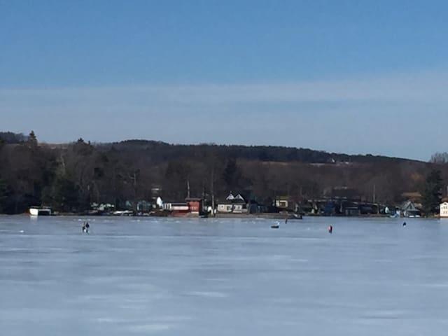 House on Loon Lake in NY Finger Lakes Region