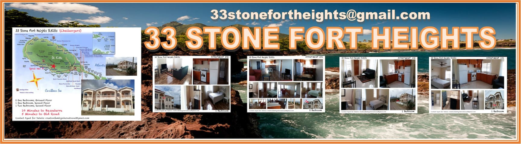 Stone Fort Heights - St. Kitts Haven Apartment#201