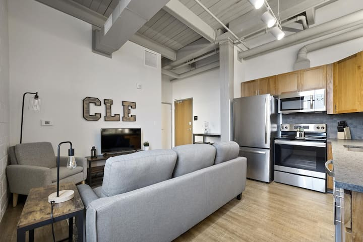 Industrial Loft Apartments in the BEAUTIFUL NEW Superior Building! #301