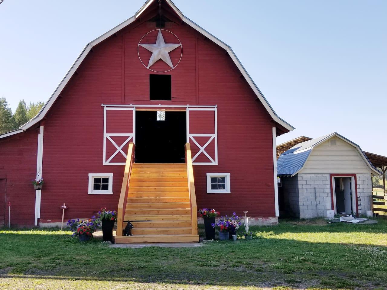 1903 Dairy Barn converted into a wedding venue