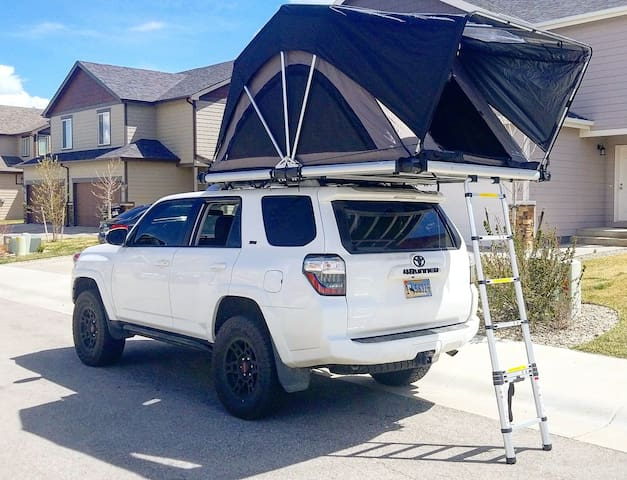 Rooftop Tent Experience