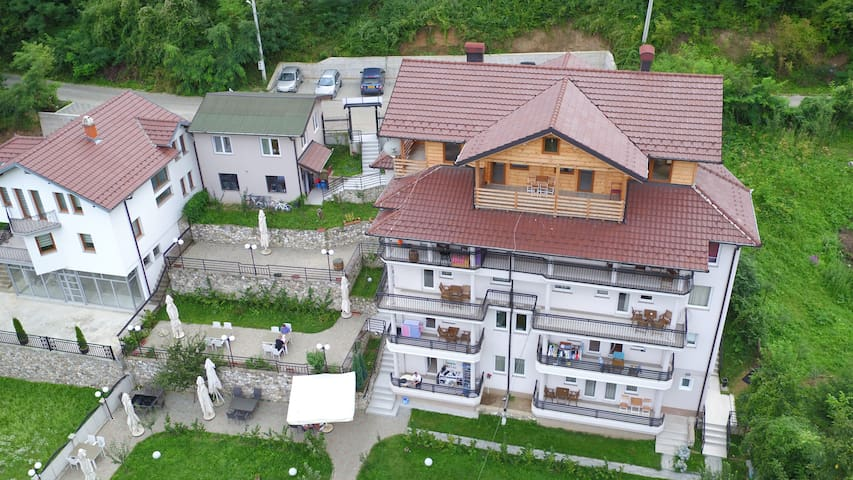 Vila Tigani in the west of Kosovo, welcome