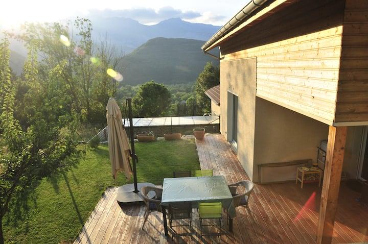 Maison située au coeur des montagnes