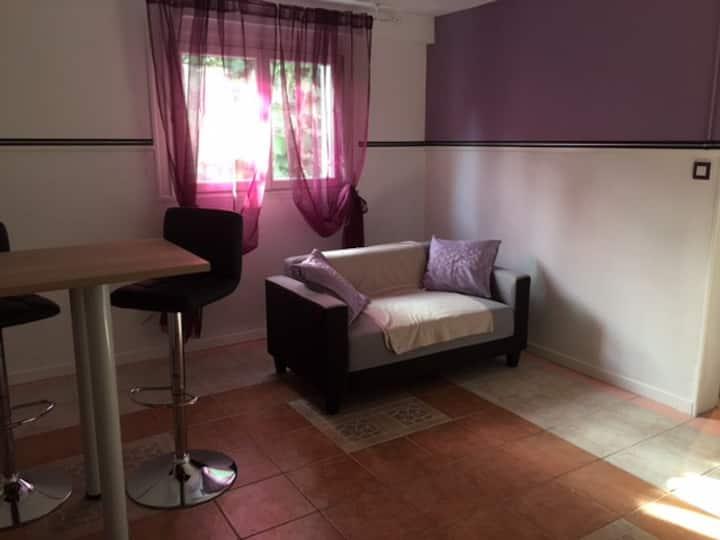 1-Appartement tranquille et bien situé