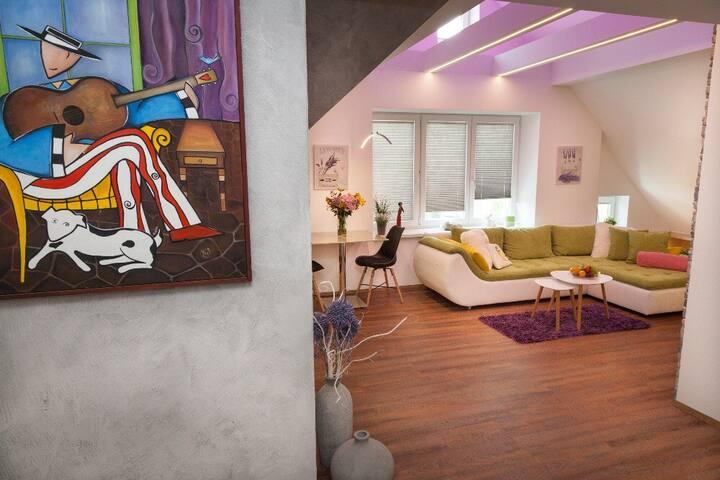 Luxusní mezonetový byt 3+kk