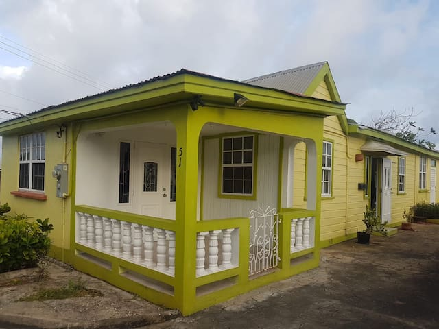 Lovely modern Bajan Chattel House