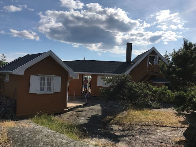 Summer home at Hankø with stunning views