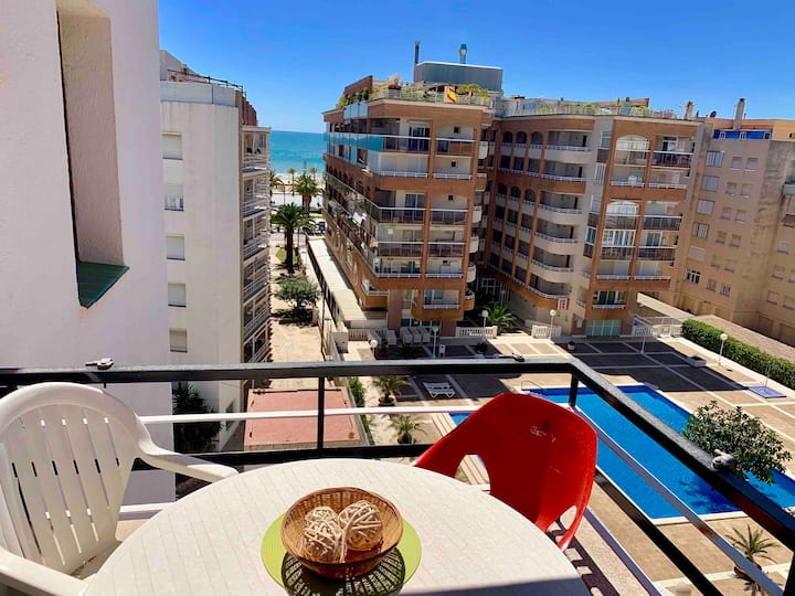 Apartment with sea views in the center of Salou