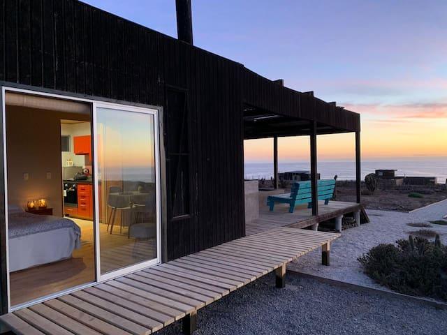 Cabaña de Playa Huentelauquén