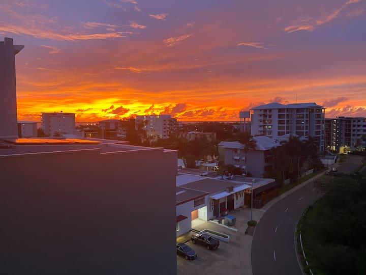Darwin City overlooking Mindil Beach & Golf Course