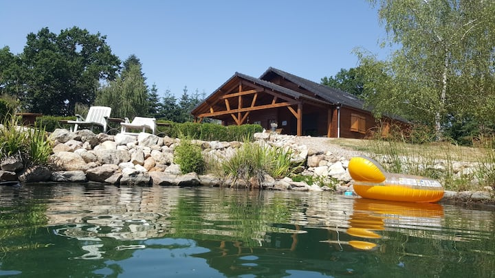CHALET IN PEACE NEAR THERMAL CITY AND PARK LE PAL
