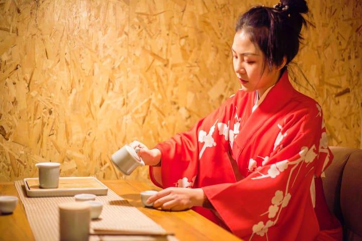 子鱼•锦鲤—近万达商圈温馨舒适品质的日式小屋