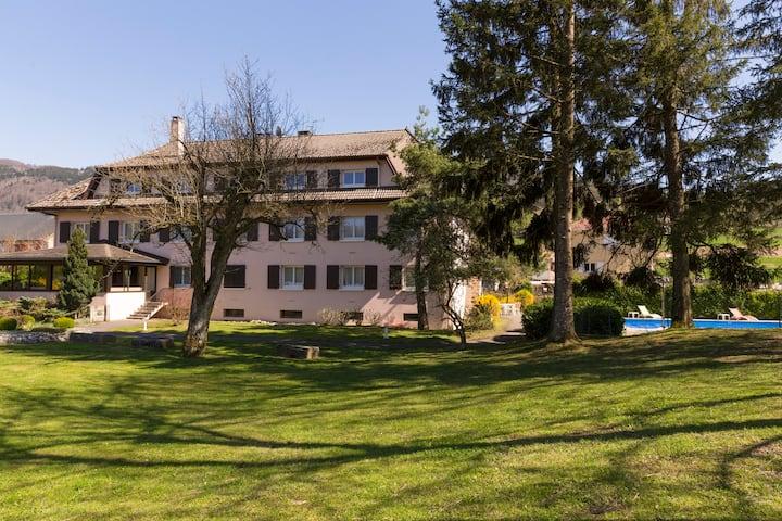 Chambre triple proche Genève et vitam Parc