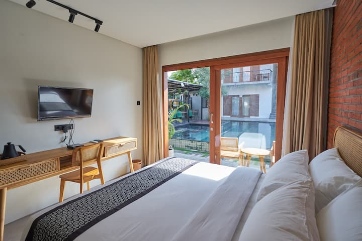Super Cozy Room with Outdoor Pool - Ubud Center