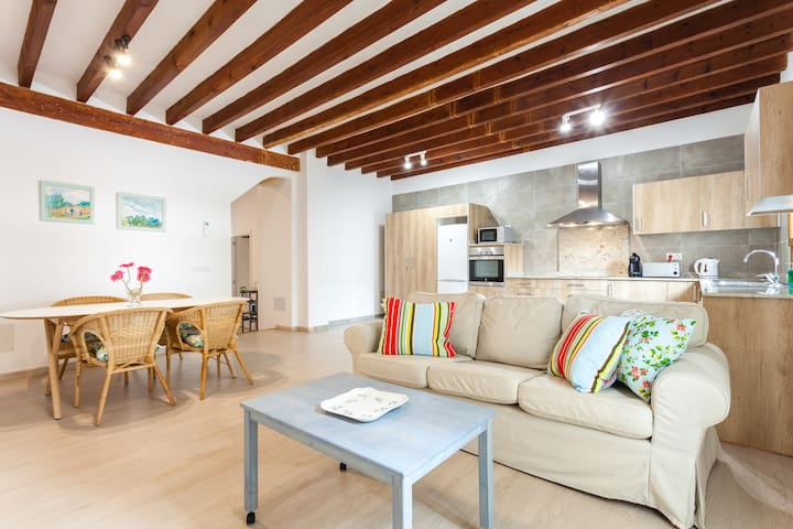 Newly refurbished apartment Old town - Palma