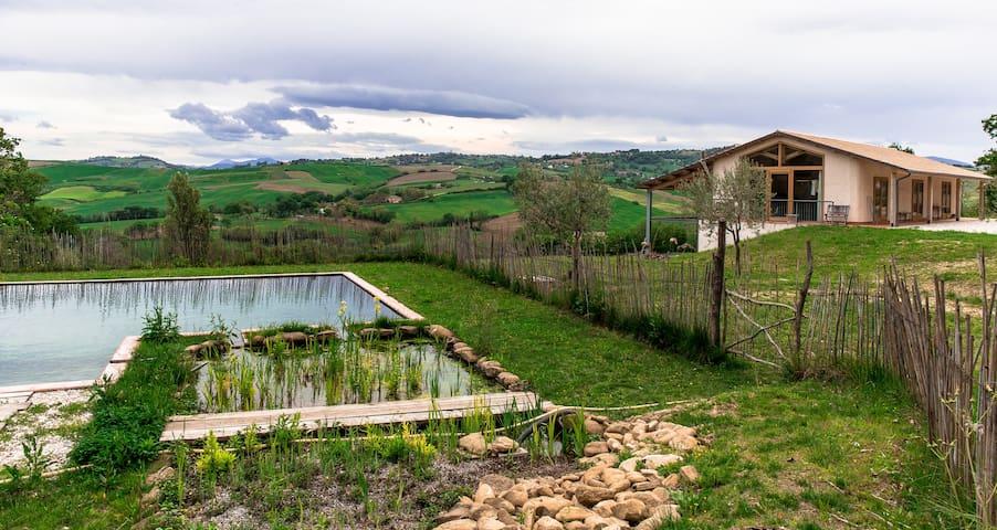 """Apartment on Demeter-farm """"La Luna nell'orto"""""""
