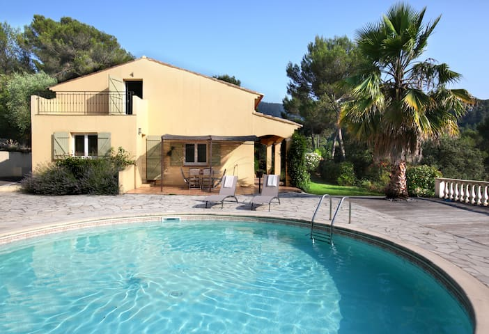 5bdr with pool / retreat between Nice and Monaco - Drap - Casa