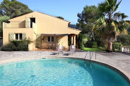 5bdr with pool / retreat between Nice and Monaco - Drap