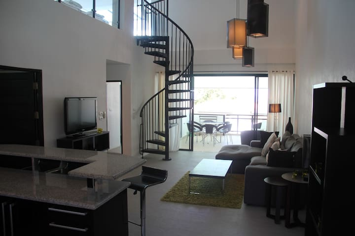 Penthouse apartment/3 BR/  Sea view - Krabi - Byt