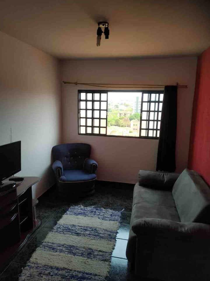 Apartamento 2 quartos uma suíte entre Usp/federal