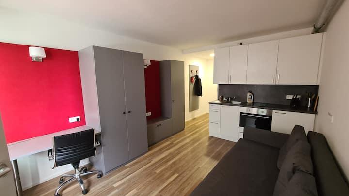 Appartement in München, gut für Home-Office
