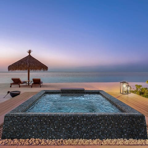 Maldives - TWO BEDROOM BEACH VILLA WITH POOL