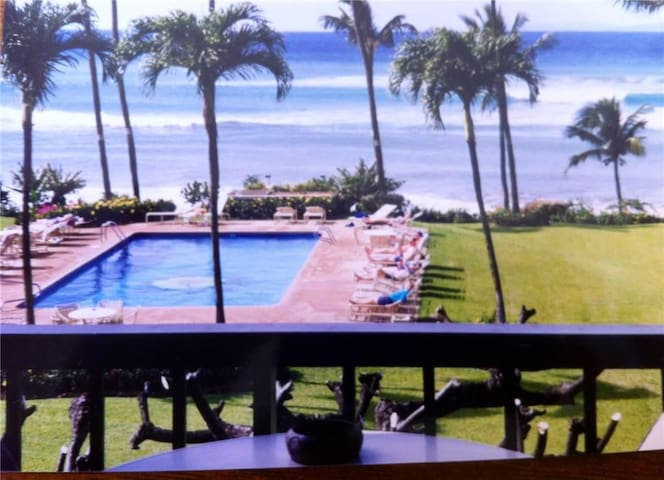Ocean View - Mahina Surf 213 (Two Bedroom Two Bath Oceanfront) - Napili-Honokowai - Apartment