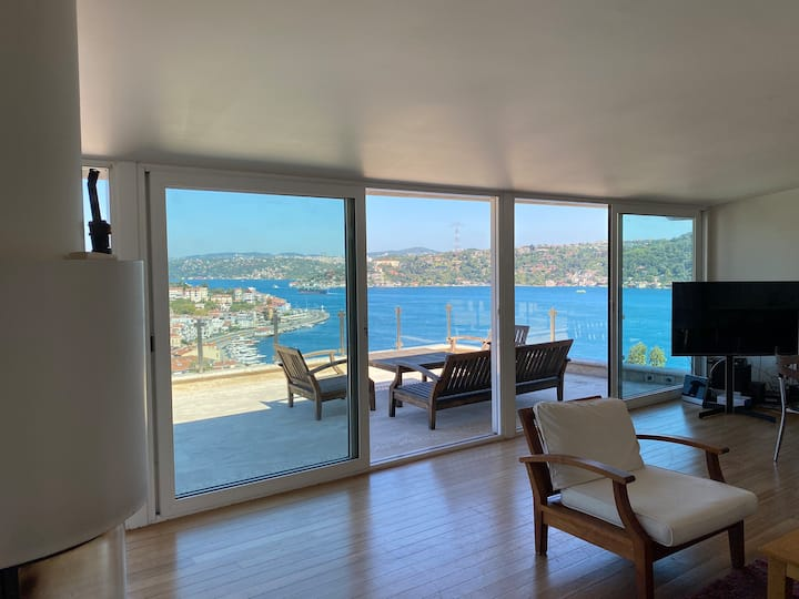 Arnavutkoy-bebek 3 bedroom terrace bosphorus view