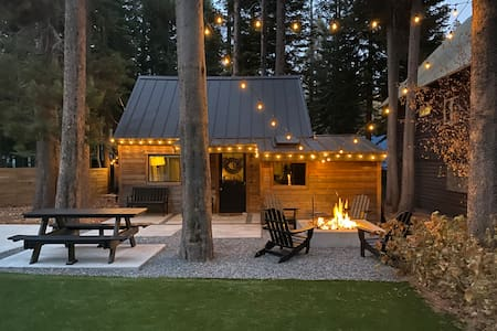 Modern Tiny Cabin Near Donner Lake