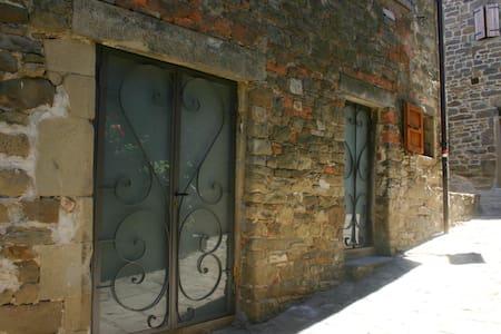La via del castello - Castel San Niccolò - Byt