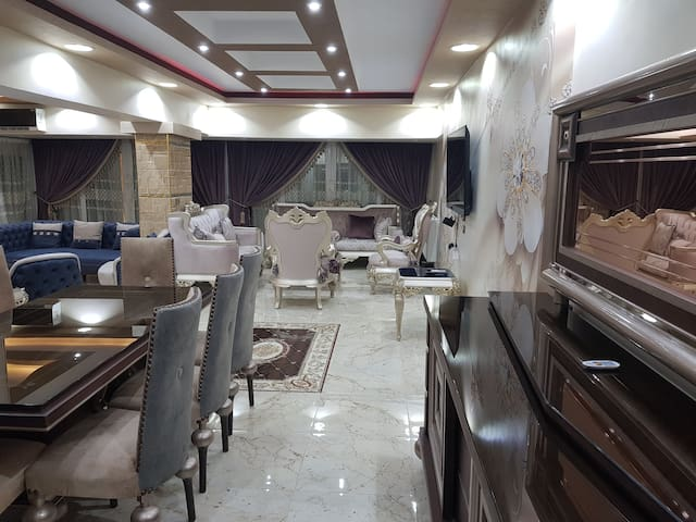 Newly built 3 bedroom apartment- Nasr City