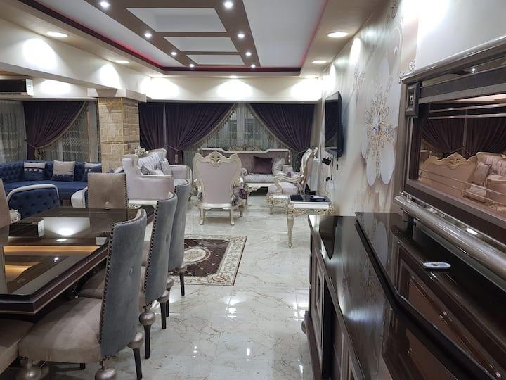 Newly built 3 bedroom apartment- Nasr City