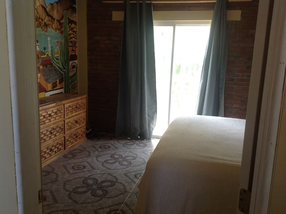 Master room upstairs/ private entrance
