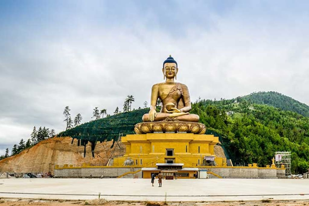 Buddha Point In Thimphu for side seeing