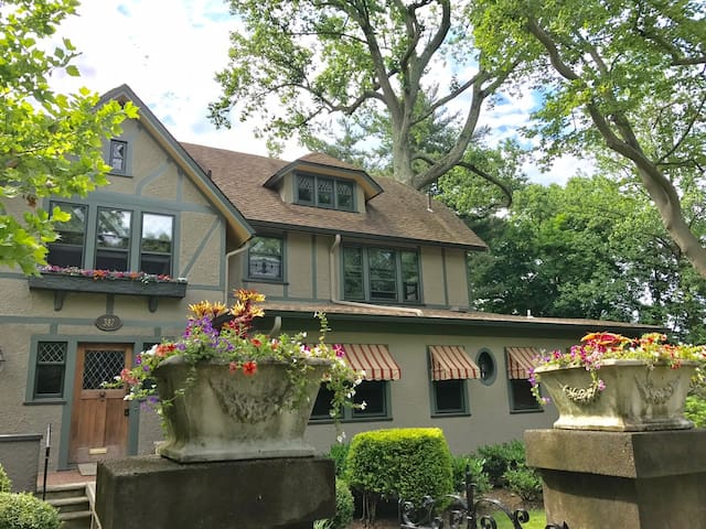 Pretty and Private in Upper Montclair