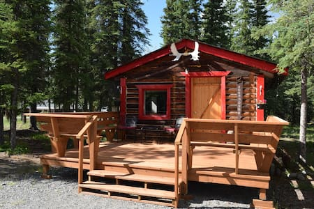 Fox 'n Fireweed: Sourdough Cabin