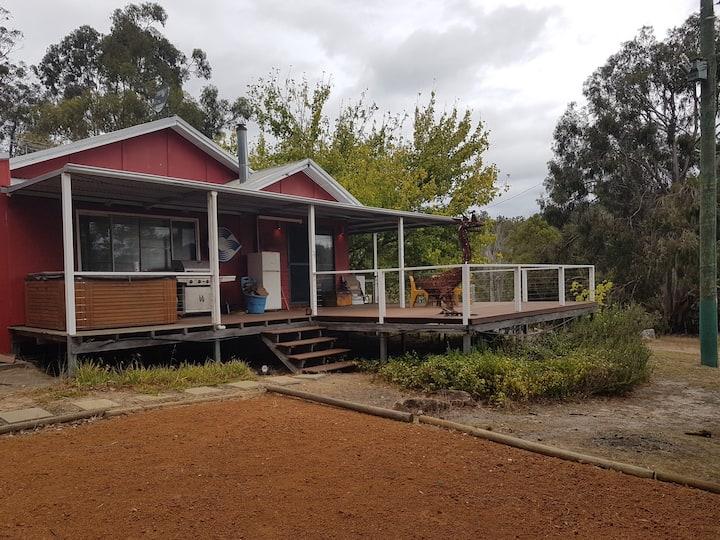 Idyllic country cottage nestled on 50 acres