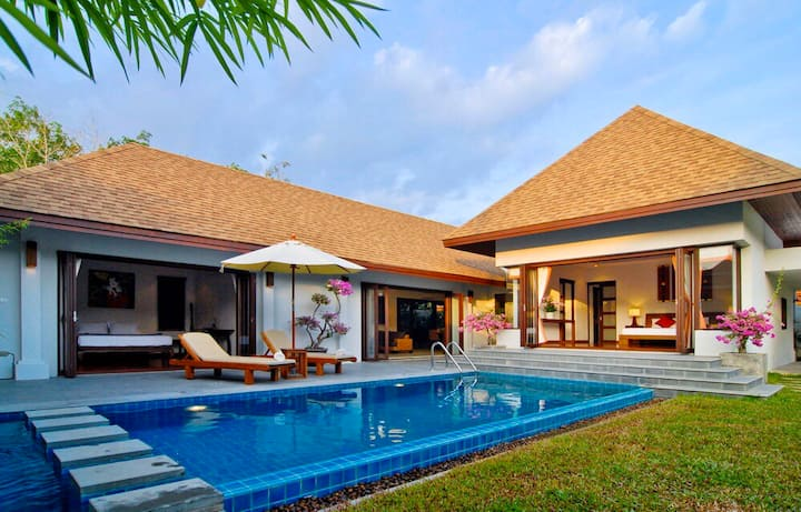 Villa susu Two bedroom private pool garden villa