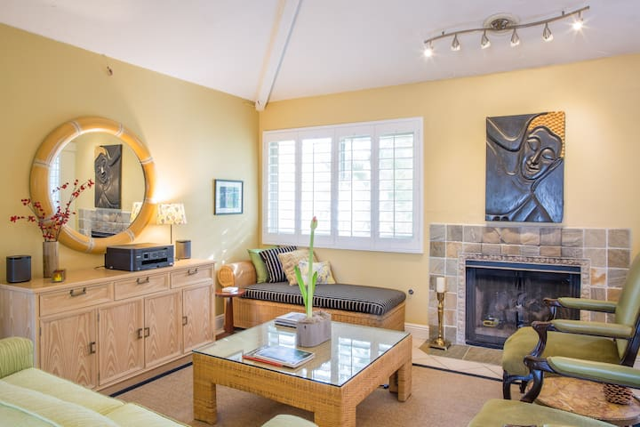 Fashionable living room