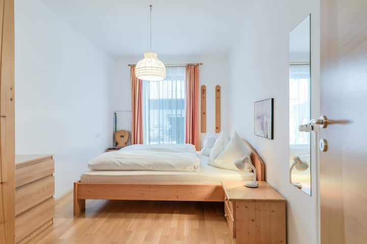 """Beautiful Holiday Apartment """"Feldhof Flower Latemar 115-4p"""" with Wi-Fi, Garden & Wellness Area; Parking Available, Pets Allowed"""