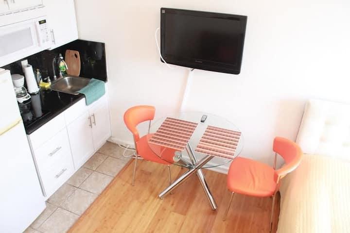 Studio with kitchen at Beach Hotel