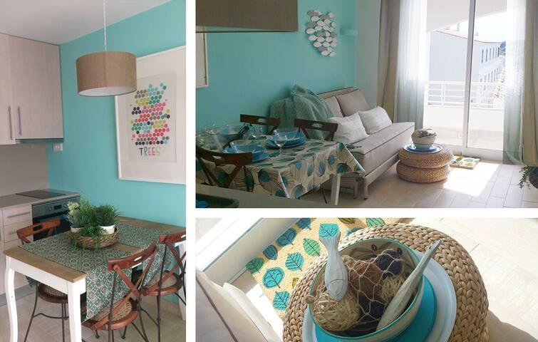 Apartamento nuevo en la playa