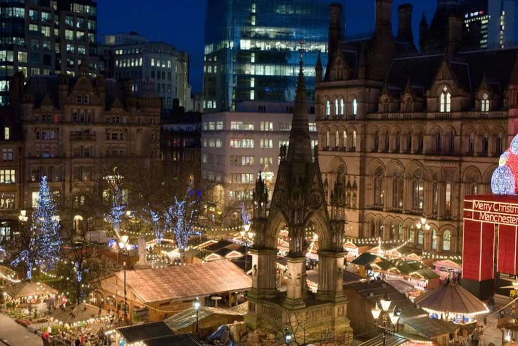 Christmas Markets at the Town Hall