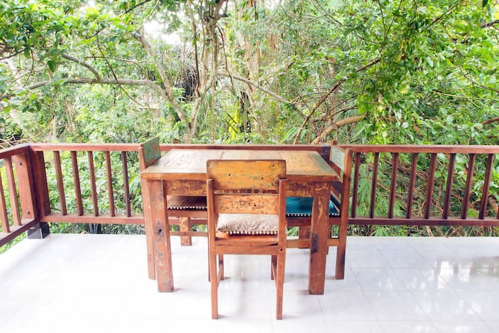 Quiet private nest with a kitchen in the jungles 2 - Ubud - Apartemen