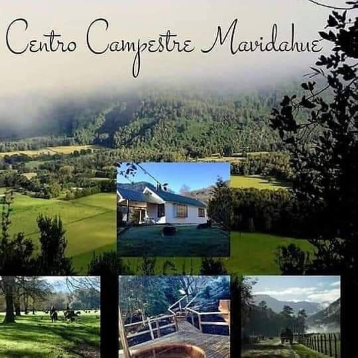 Alojamiento rural, campo chileno
