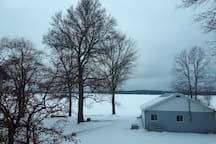 View from Deck - Winter