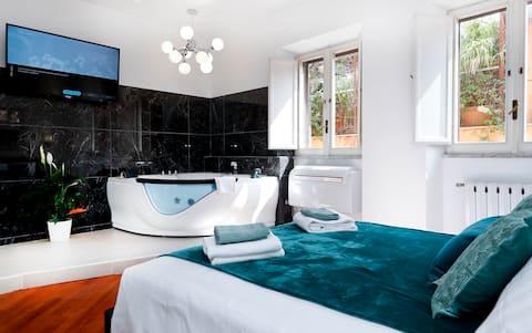 Apartamento Suite Pantheon con jacuzzi