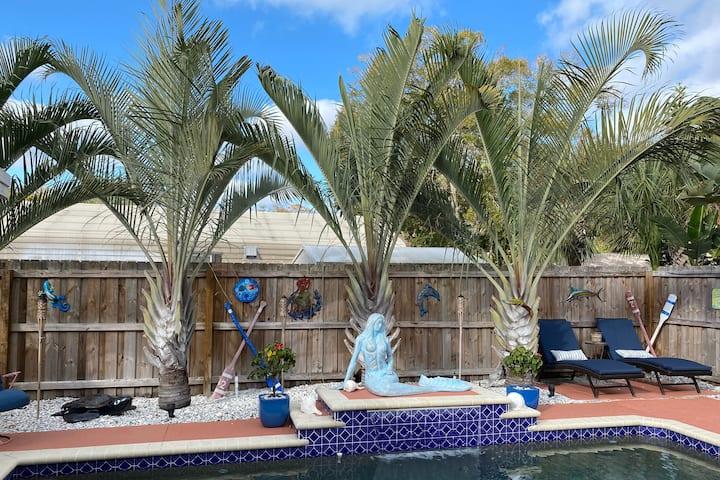 Tropical Oasis Retreat w/ Heated Pool