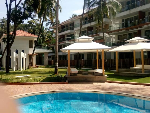Calangute Beach Goa 10 * 1 Bedroom Apartments - Calangute - Apartamento