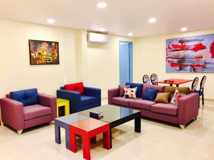 Spacious apartment in Luna's Village